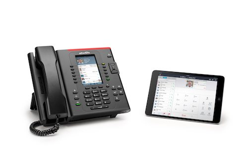 Cloud business phone service and ipad